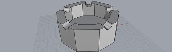 [TUTORIAL] Come realizzare un posacenere sfaccettato